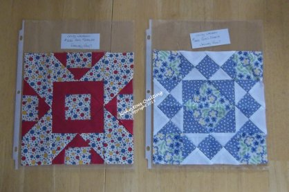 Pony club Quilt block Swap