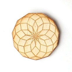 undecagon pin