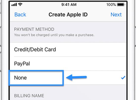 كيفية إنشاء حساب Apple ID دون استخدام بطاقة الائتمان في 2019