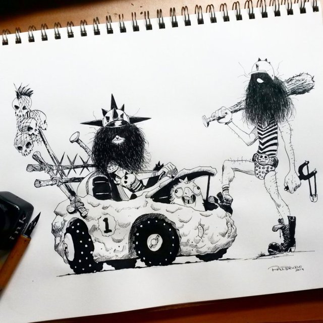 the_bouldermobile_wacky_races_by_raultrevino-d856qke