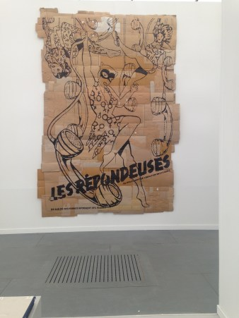 Andrea Bowers at Andrew Kreps Gallery