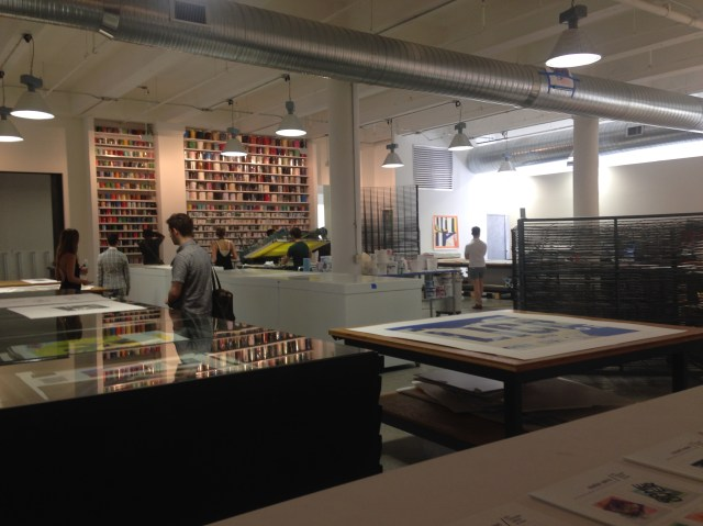 View of Gary Lichtenstein Editions at Mana
