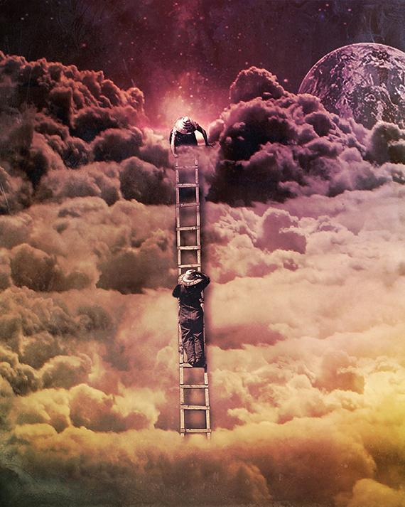 "Ellery Mann, ""Cosmic Collage 007,"" via Ellery Mann"