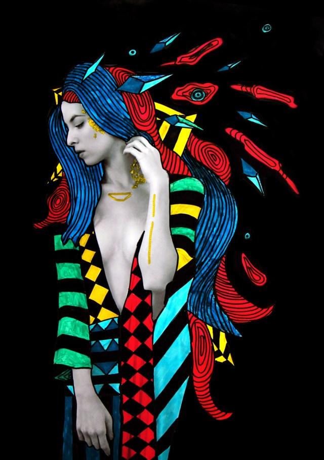 hippie gown sized