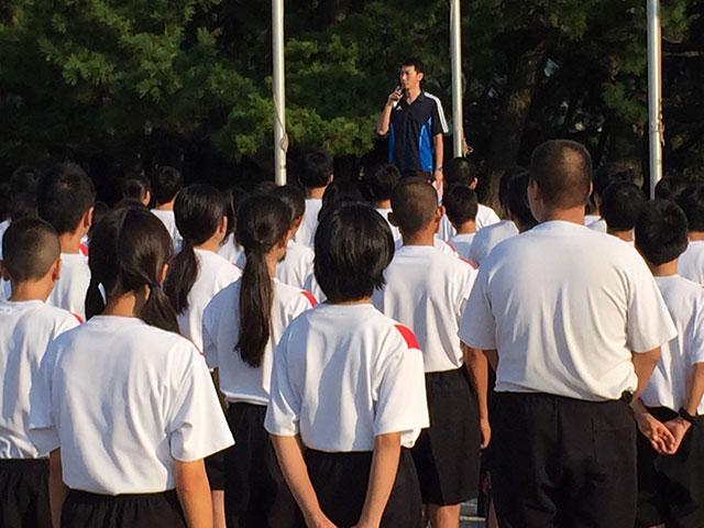 那珂川北中学校・平成27年度 自然教室