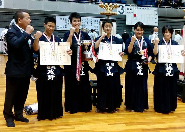 那珂川北中学校、剣道部の快挙