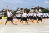 那珂川北中学校、第13回体育祭