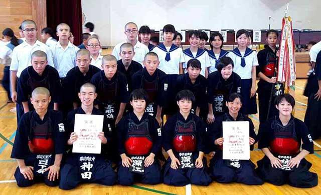 那珂川北中学校・平成28年度中体連 筑紫区大会団体