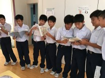 那珂川北中学校 平成28年度 合唱コンクール練習風景