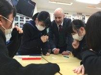 那珂川北中学校 3年生の授業風景から