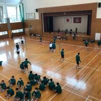 那珂川北中学校 1年生クラスマッチ