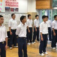 那珂川北中学校 文化祭に向けての合唱練習