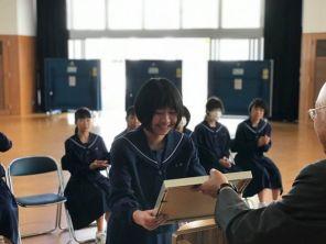 那珂川北中学校 受信環境クリーン図案コンクール 受賞