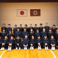 那珂川北中学校 生徒会任命式・認証式と生徒会交代式