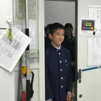 那珂川北中学校 校内探検