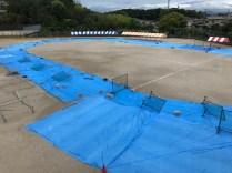 那珂川北中学校 体育祭の準備