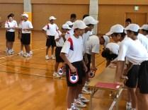 那珂川北中学校 体力テスト