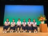 那珂川北中学校 かわせみ杯にて