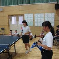 那珂川北中学校 卓球部新体制