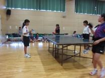 那珂川北中学校 女子卓球部