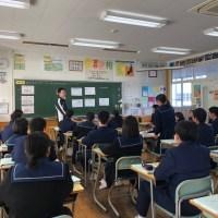 那珂川北中学校 田村教諭の研究授業