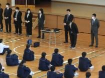 那珂川北中学校 赴任式・始業式