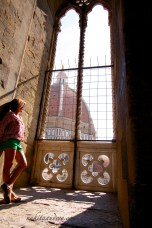 Inside the Campanille in Florence