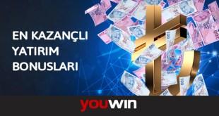 Youwin Yatırım Bonusu