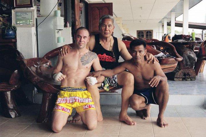 eric karner with kru yodtong