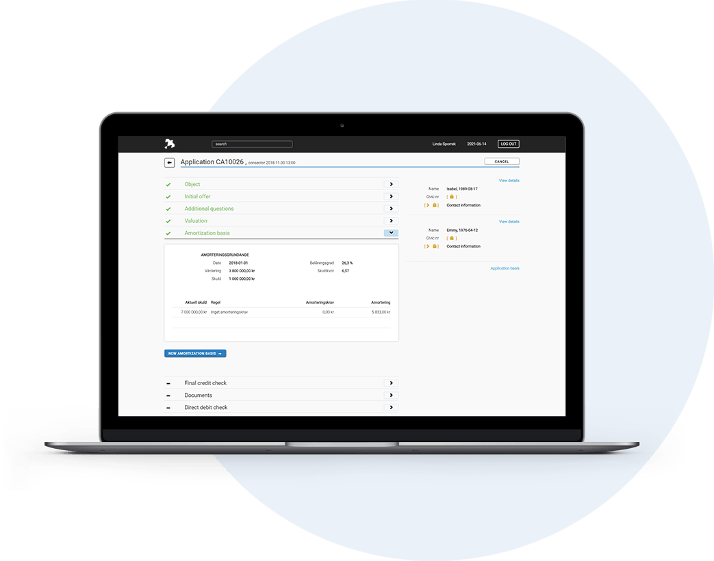 Näktergal's cutting-edge lending platform is intuitive and highly scalable — offering everything you need to make lending more efficient and simple.