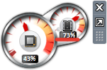 «CPU индикаторы» гаджеті