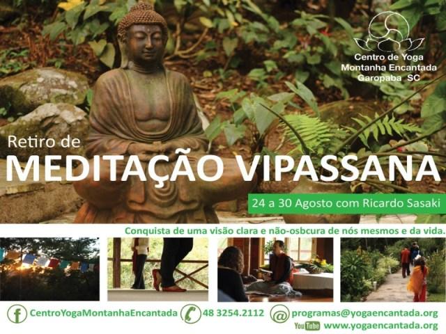 meditação vipassana agosto 2014