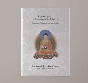 I primi passi sul sentiero buddhista. Copertina