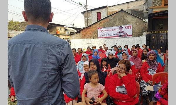 Caleg Baru PSI, Rian Ernest, Mencuri Perhatian Warga Jakarta Timur