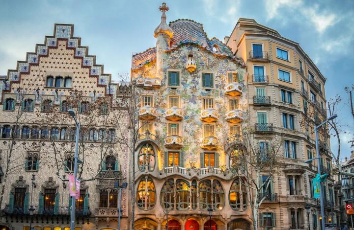 Casa Batlló, španělsko