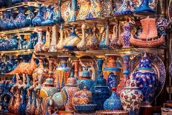 Grand Bazaar in Istanbul 2, Turecko