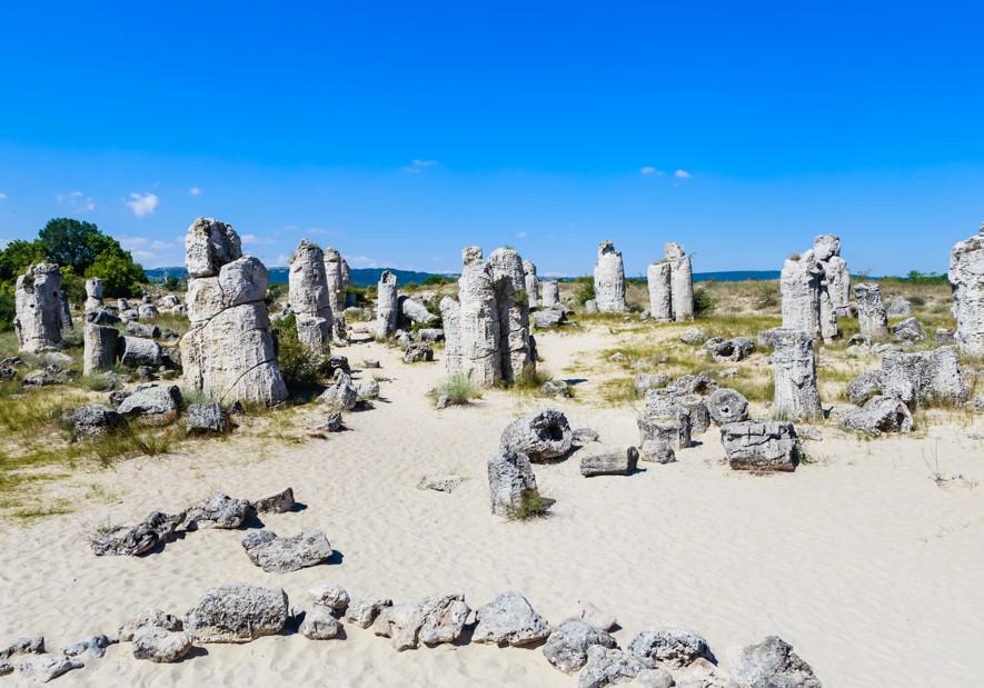 Kamenný les (Pobiti Kamani), Bulharsko