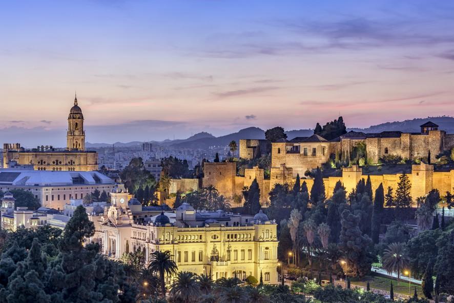 Malaga, Španělsko
