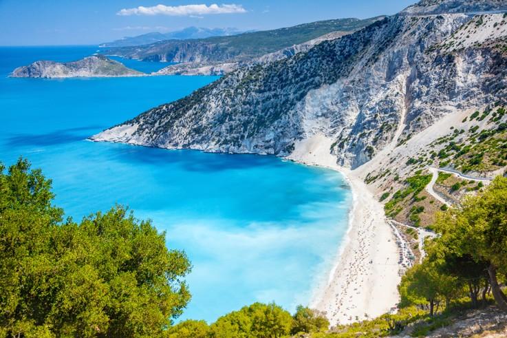 Myrtos beach, Kefalonie