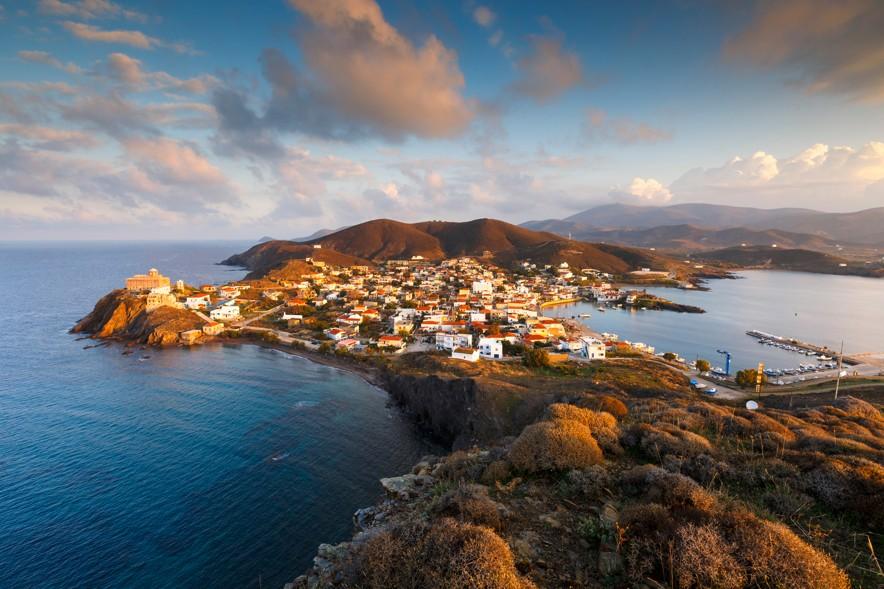 Ostrov Psara, Chios