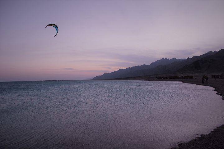 kitesurfing, Egypt