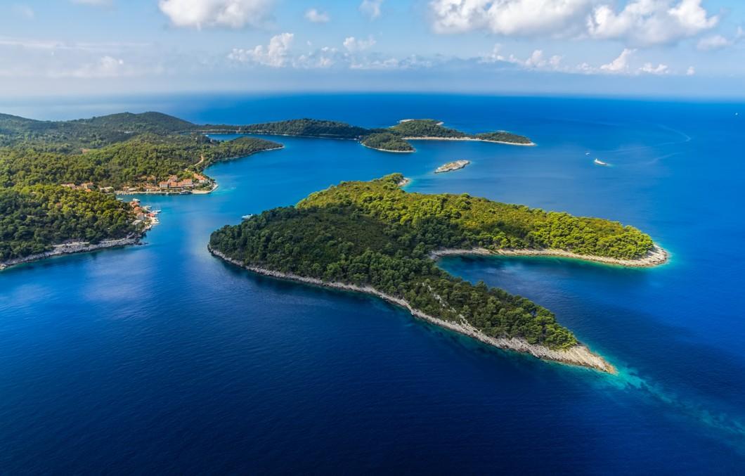 ostrov Mljet, Chorvatsko