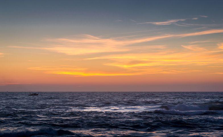 západ slunce, Egypt