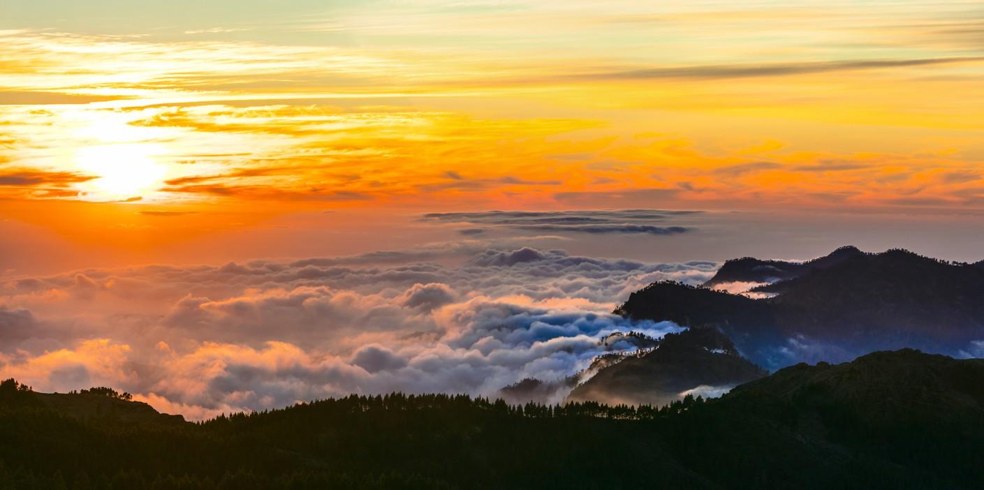 západ slunce, Gran Canaria