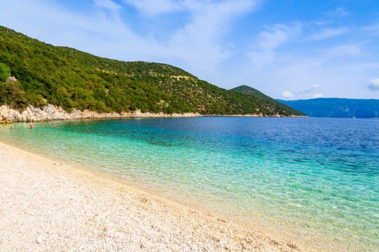 Antisamos beach on Kefalonie