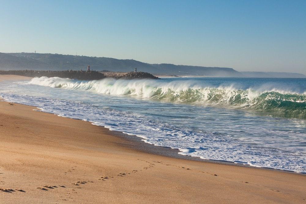 Praia de Nazaré, Portugalsko