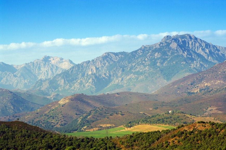 Hora Monte Cinto, Korsika