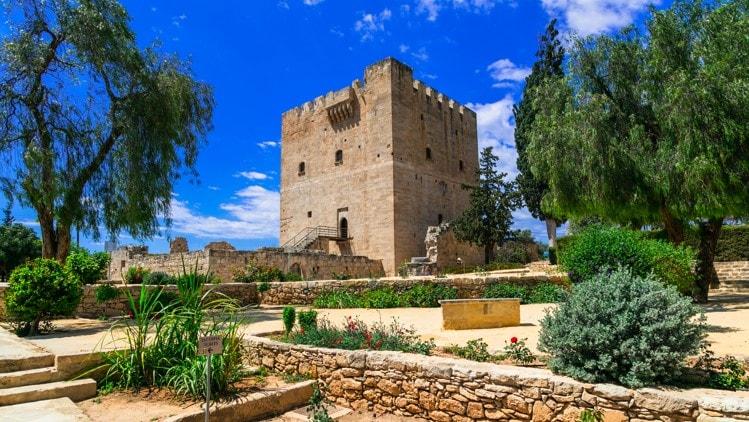 Hrad Kolossi, Kypr