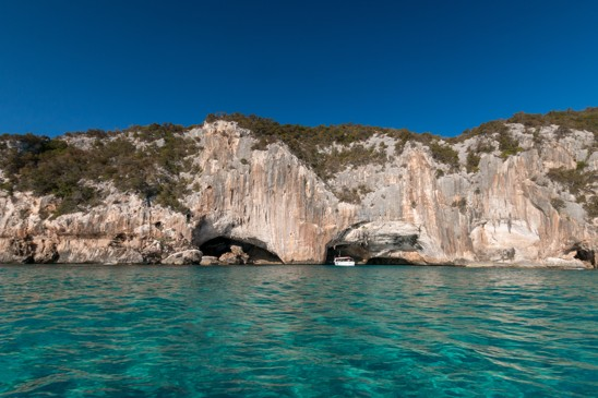 Jeskyne Grotta del Blue Marino, Sardinie