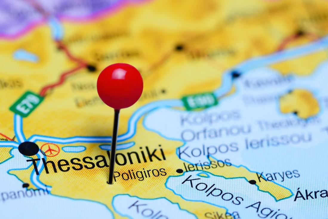 Poligiros, Chalkidiki, Řecko